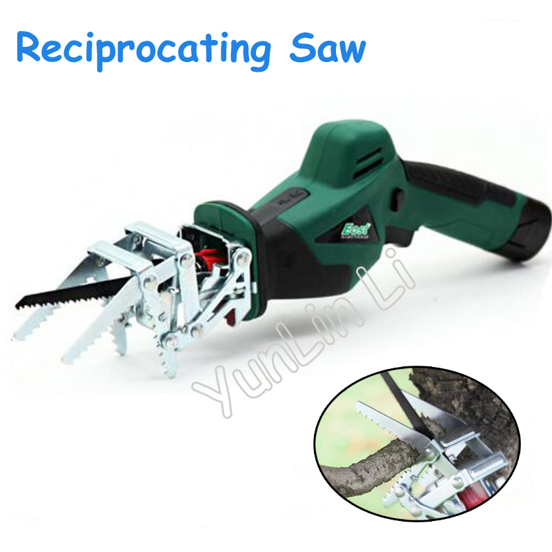 10.8V Rechargeable Reciprocating Saw Electric Handheld Recycling Sawmill Tools ET151010.8V Rechargeable Reciprocating Saw Electric Handheld Recycling Sawmill Tools ET1510