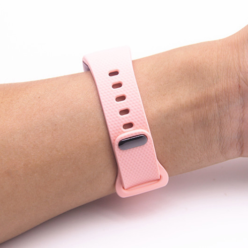 Replacement Luxury Silicone Watch Band Strap For Samsung Gear Fit 2 SM-R360Colour:Pink