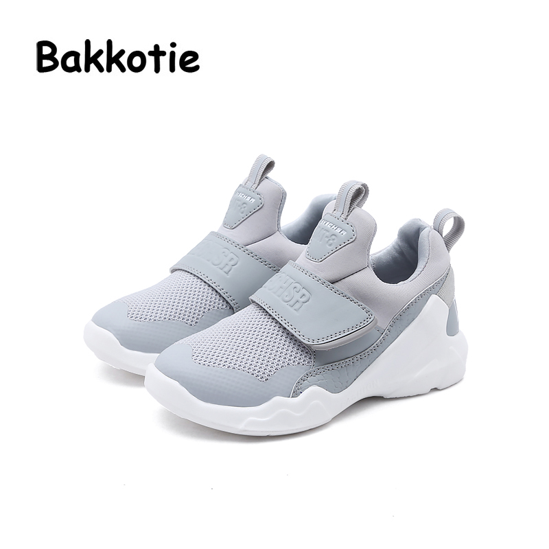 6e63dbde600 Bakkotie Girl Sport Mesh Shoes Spring Leisure Boy Trainer 2018 Shoe  Breathable Baby Fashion New Toddler ...