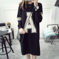 Autumn  fashion new pregnant women in the long paragraph of the pregnant women's sweater sets of the first wave mom dress
