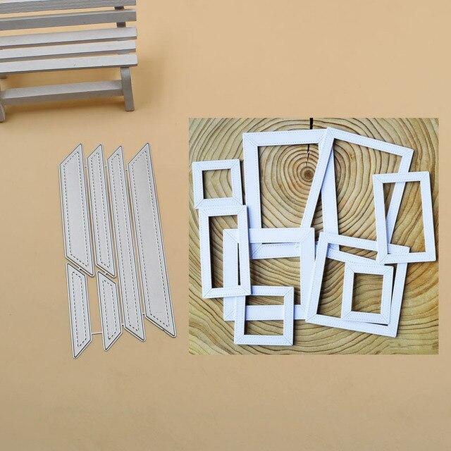 Рамка высечки коллекции металлические трафареты для пресс-формы для DIY альбом для скрапбукинга бумага декоративная открытка Ремесло тиснение высечки 2019