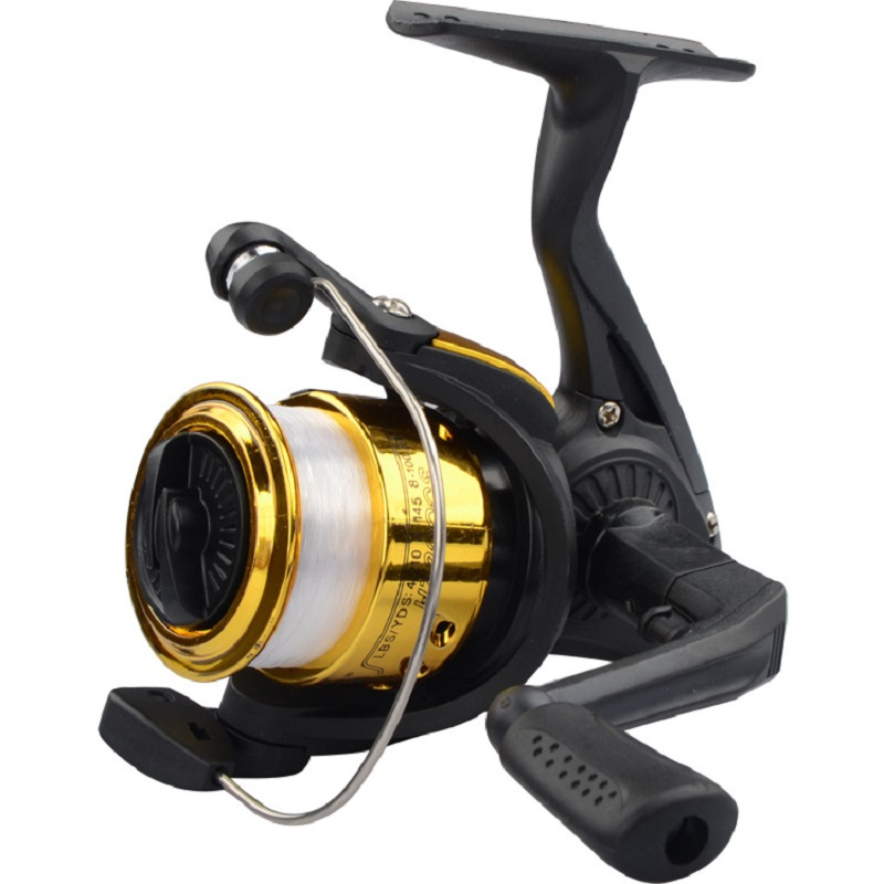 Image 3 - Fishing Wheel Spinning Reel Vessel Bait Casting Flying Fishing Trolling Spinning reels saltwater With Line Fishing Accessories-in Fishing Reels from Sports & Entertainment