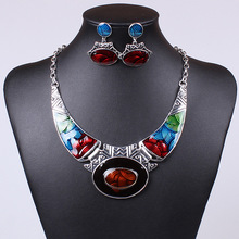 Tz13 vintage new 2015 a la moda parure joyas bijuterias bijoux bisuteria conjuntos de joias schmuck conjuntos de joyería de fantasía para mujeres