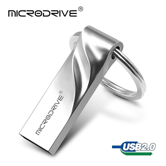 Kinh doanh Phong Cách Pen Drive 32 GB Năng Lực Thực Sự 128 GB 64 GB usb 2.0 stick pendrive USB ổ đĩa Flash 16 GB 8 GB 4 GB Với vòng chìa khóa