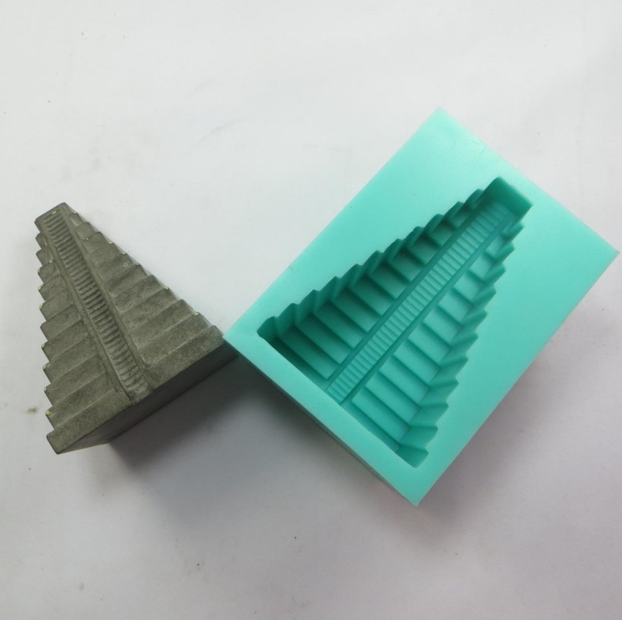 torre de cimento molde de silicone 3d