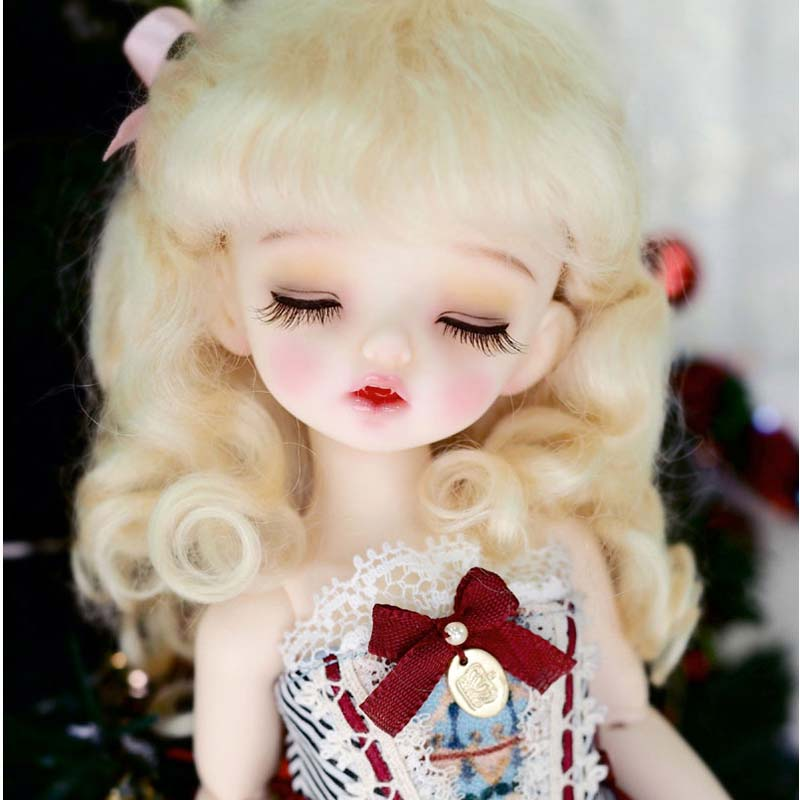 1/6 BJD Doll BJD/SD Lovely Cute NP Karou Close Eyes Resin Doll For Baby Girl Birthday Gift Free Shipping