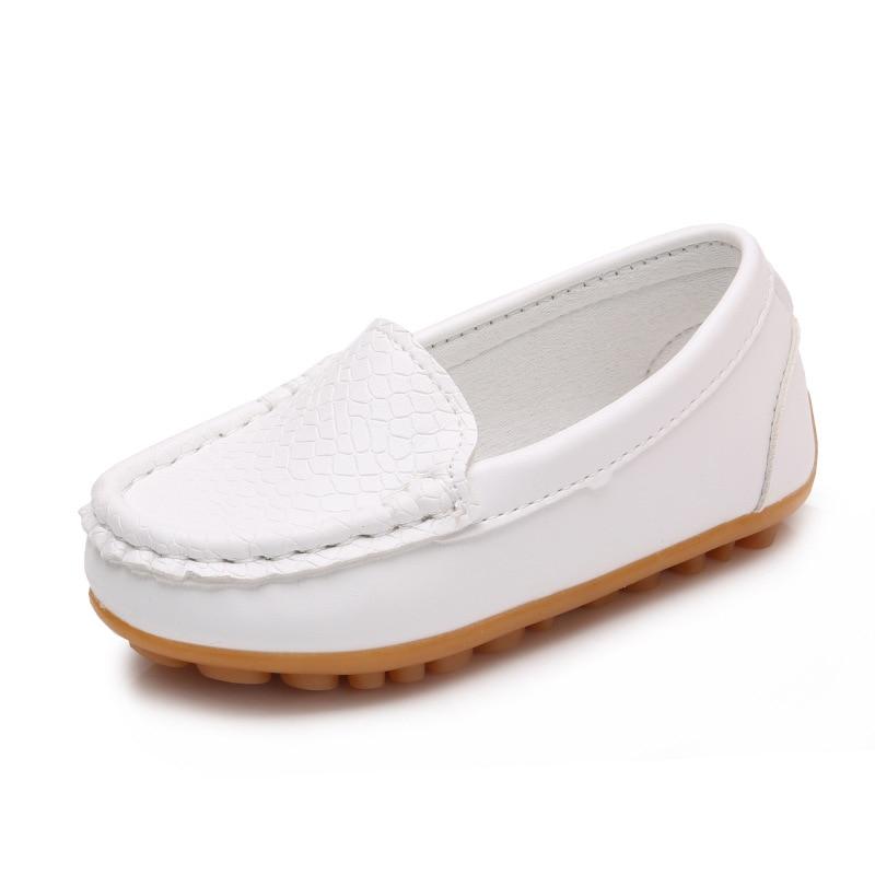 2017 nowych dzieci buty mody slip on skórzane buty chłopiec i - Obuwie dziecięce - Zdjęcie 4