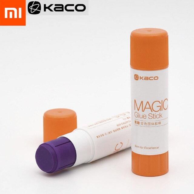 Original Xiaomi Mijia Kaco Magic Glue Stick 2Pcs/Pack Purple Colored Tape Office School Supplies Stationery