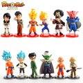 6 pçs/lote conjunto de Dragon Ball Z figuras de ação Goku Vegeta Gohan Trunks Piccolo marca 2015 figuras brinquedos frete grátis