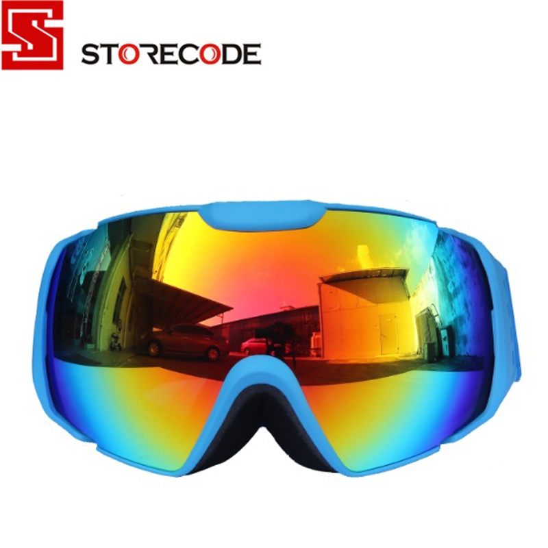 StoreCode Brand Ski Goggles Unisex Double Clear Lens Anti-Fog Anti-Scratch UV Protection WH656