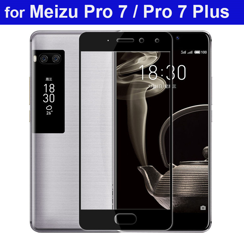 WeeYRN 9H 2.5D Protective Glass Flim Meizu Pro 7 / Pro 7 Plus Tempered Glass Screen Protector Meizu Pro 7 Full Coverage Glass