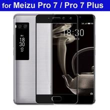 WeeYRN 9H твердость 2.5D защитное стекло на Meizu Pro 7 / Pro 7 Plus(мейзу про 7 плюс) закаленное Стекло Экран протектор на Meizu Pro 7(мейзу про 7) защитная пленка полный крышка Стекло