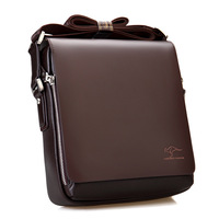 Top Brand 100 Genuine Leather Bag Men IPad Tabelt Cowskin Crossbody Bag Men S Business Handbags
