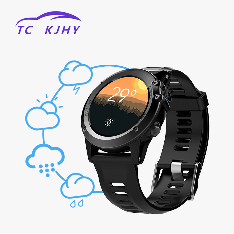 2018 Auto Micro Smart GPS Tracker Android 4.4 Waterproof 1.39 Inch Support 3G Wifi GPS SIM Smart GPS Tracking Devices Track