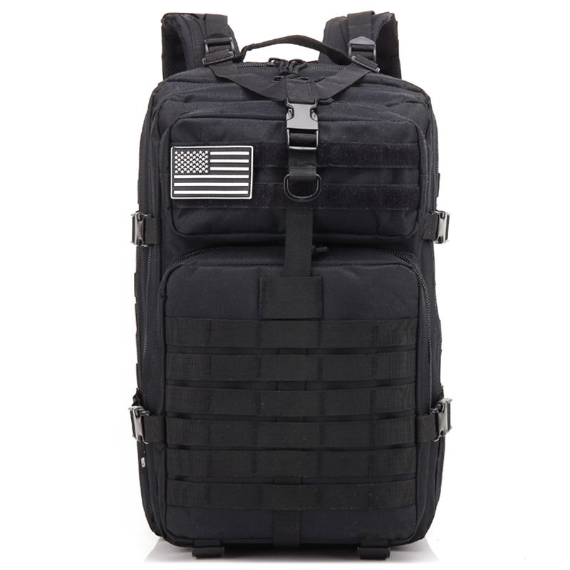 ICON 34L Tactical Assault Pack Backpack Army Molle Waterproof Bug Out Bag Small Rucksack for Outdoor Hiking Camping Hunting(bl 2018 hot a military tactical assault pack backpack army molle waterproof bag small rucksack for outdoor hiking camping hunting