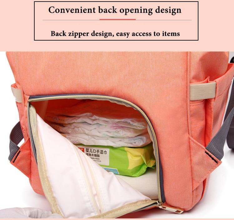 HTB1erycXcnI8KJjSspeq6AwIpXaz Large Capacity Baby Bag Mummy Travel Backpack Fashion Brand Designer Nursing Bag for Baby Mom Backpack Women Carry Care Bags