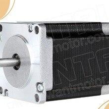 4-провода высокое качество Nema 23 шагового двигателя 275oz-in, 4.0A ЧПУ 57BYGH650-23 wantaimotor