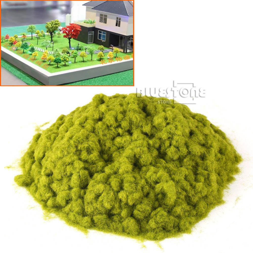 100g ( or 3.53 ounce ) GRASS FIBRE 3mm Bright Green Model Railway Layout100g ( or 3.53 ounce ) GRASS FIBRE 3mm Bright Green Model Railway Layout
