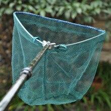 185cm Retractable Fishing Net Telescoping Foldable Landing Net Aluminum Alloy Pole Folding Landing Net Fishing Tackle
