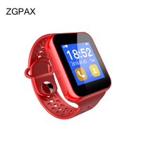 ZGPAX Bluetooth 3 0 Smart Watch I8 With TFT Screen SIM Card Passometer Camera Clock GSM