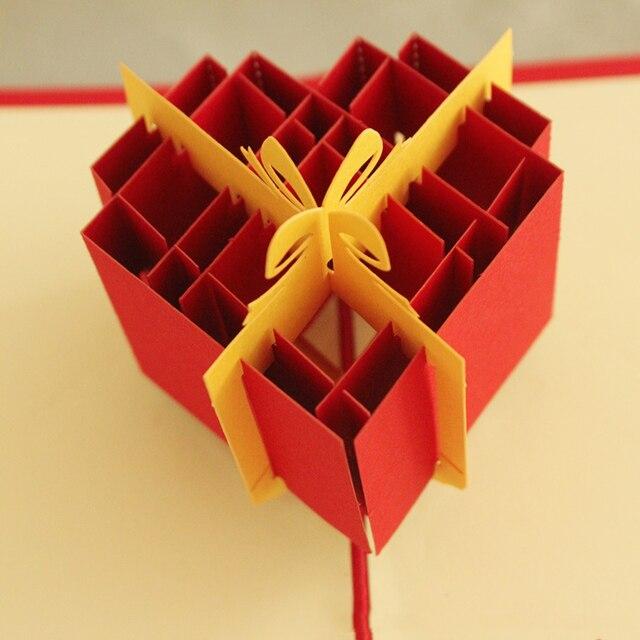 10 piecelot3d handmade hollow out gift box greeting cards fancy 10 piecelot3d handmade hollow out gift box greeting cards fancy paper m4hsunfo