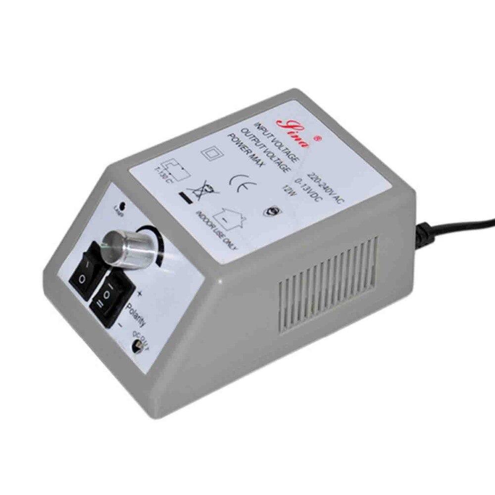 20000 RPM Tragbare Elektrische Nagel Bohrmaschine 110 240 V Maniküre ...