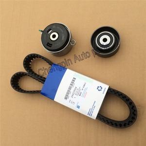 Image 1 - Engine Original Timing Belt Kit Tensioner OEM# 95516740 55574864 24422964 24436052 For Chevrolet Cruze Sonic Epica Buick Regal