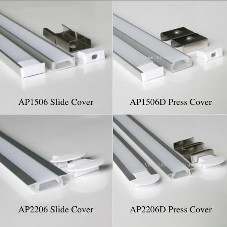 30m 30pcs a lot 1m per piece led aluminum profile slim AP1506 2206 1m with milky