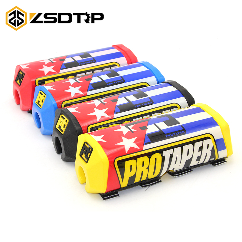 Zsdtrp For 28mm Handlebar Pads Fat Bar 1-1/8 Pack Dirt Bike Motocross Fat Mx Rubber Racing Handlebar For Protaper Ktm Motorcycle Accessories & Parts Handlebar