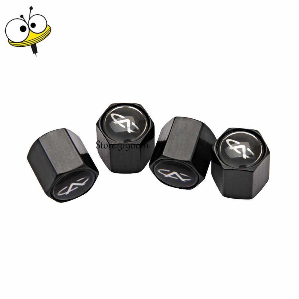 Akcesoria samochodowe opona samochodowa trzonki zaworu obejmuje felgi rowerowe naklejki dla Chery Tiggo 3 5 M11 T11 A1 Amulet A3 forach A5 Fulwin QQ