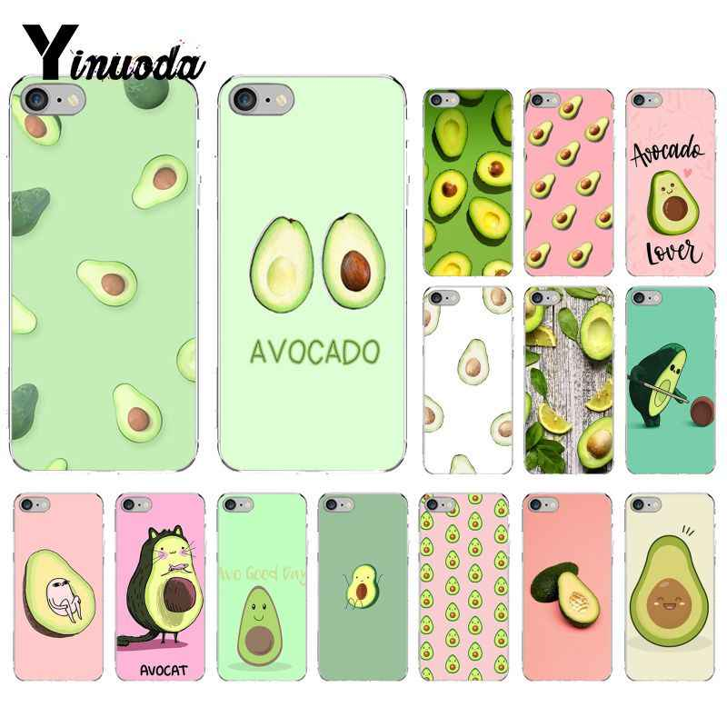 Yinuoda avocado DIY Printing Drawing Phone Case  for iPhone 6S 6plus 7 7plus 8 8Plus X Xs MAX 5 5S XR 10