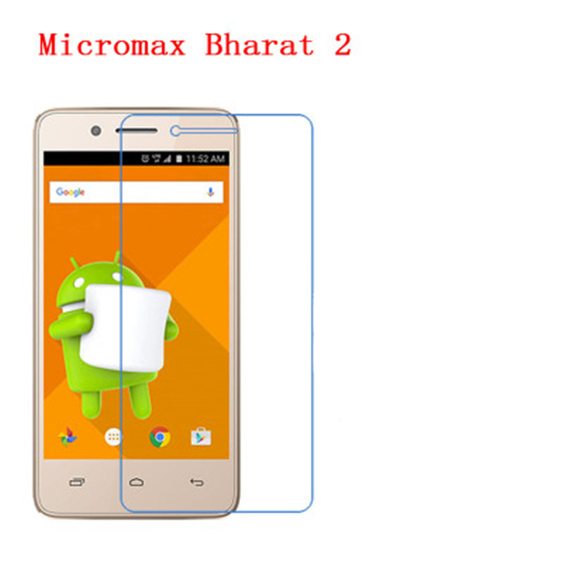 5 Pcs Ultra Thin Clear HD <font><b>LCD</b></font> Screen Guard Protector Film With Cleaning Cloth For <font><b>Micromax</b></font> Bharat 2 <font><b>Q402</b></font>. image