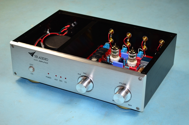 High Version HiFi Tube Preamp 6N3 5670 Tube Preamplifier MatAise Preamp Tube