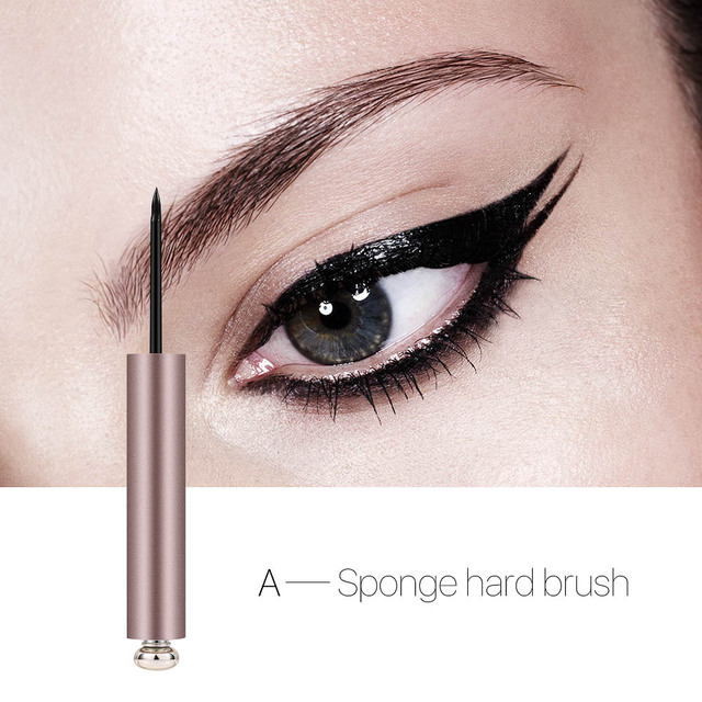 O.TWO.O Professional Thin Liquid Eyeliner Pen Silk Eye Liner Pencil 24 Hours Long Lasting Water-Proof Eyes Makeup Tools 3