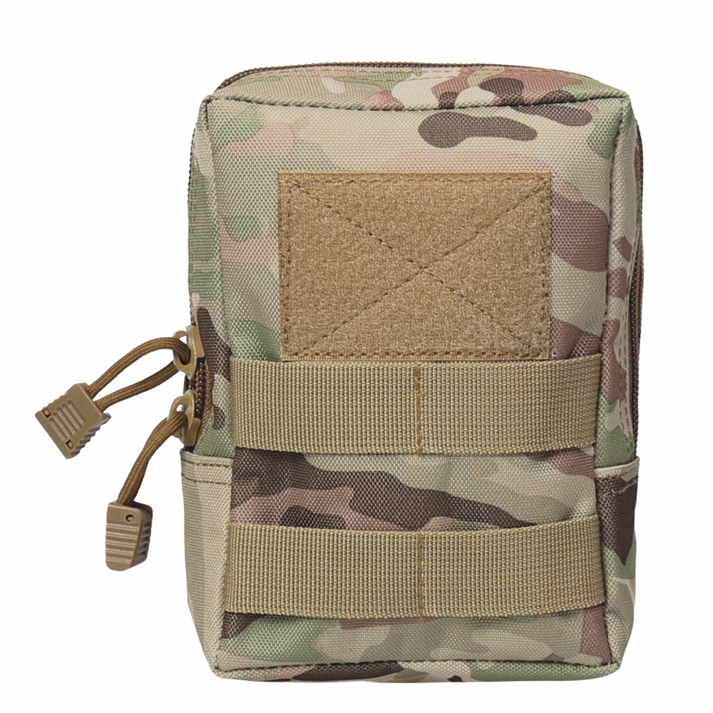 Tactical Molle Bag 600D Nylon Pouch Portable Outdoor Gadget Mobile Phone hunting Waist Pack Equipment