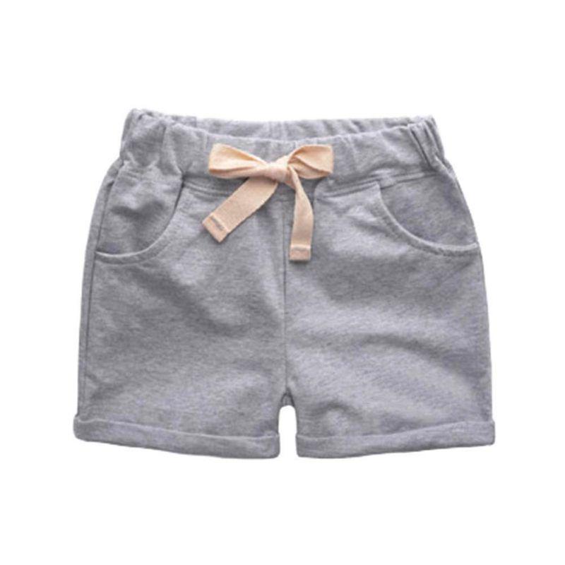 4 Kleuren Zomer Kinderkleding Babybroek Knielengte Shorts - Kinderkleding - Foto 1