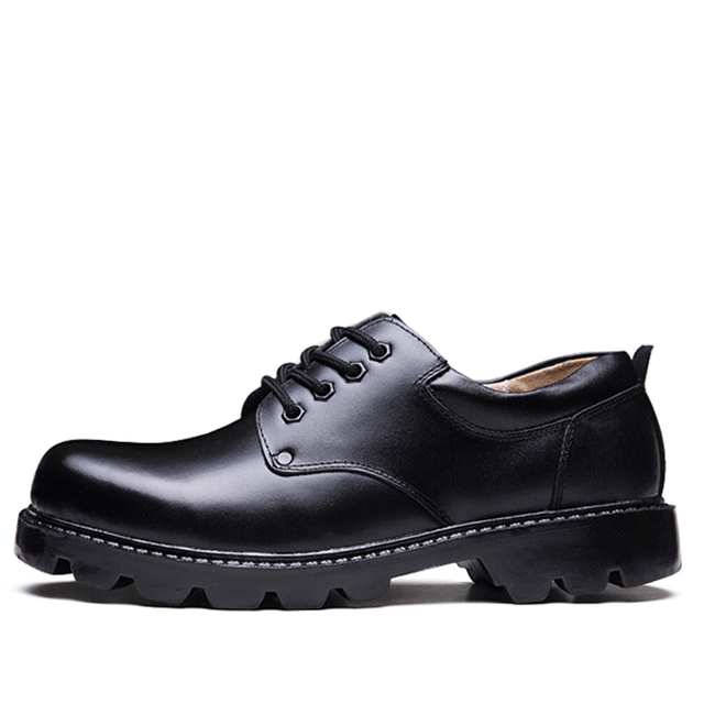 Mens Shoes Large Sizes Casual British Genuine Cow Leather Men Shoes Footwear Army Officer Classic Shoes Men Winter Fur Black