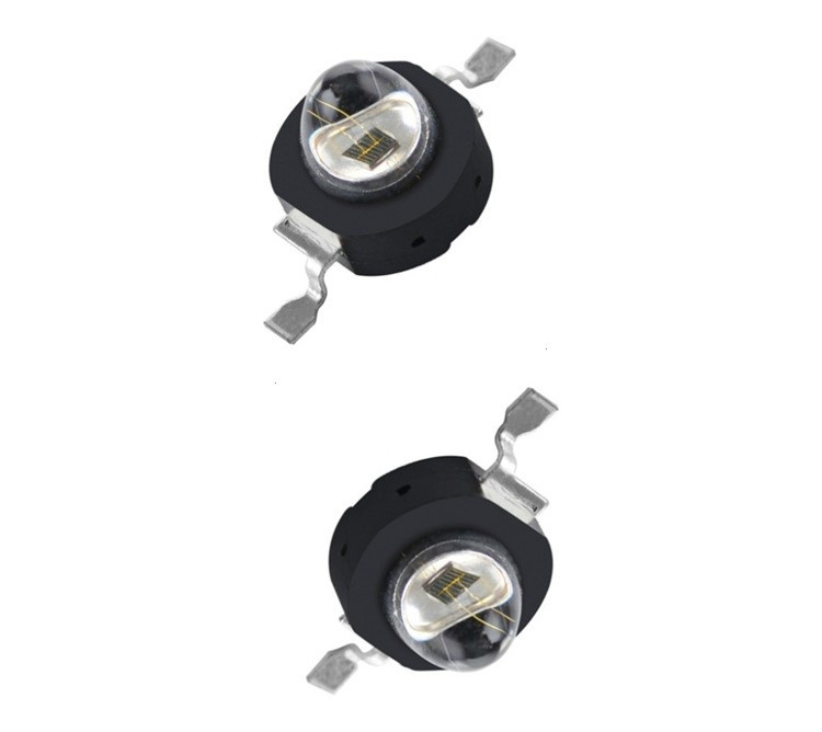 10pcs Black Model 1~3W IR 740nm LED High Power LED Chip (Not contain the PCB Board)