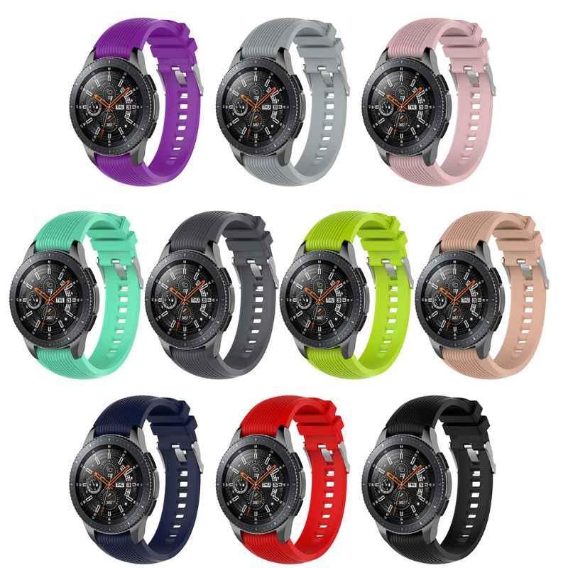 22mm silikonowy pasek do zegarka pasek do zegarka Samsung Galaxy 46mm Gear S3 Frontier/klasyczny bieg 2 R380