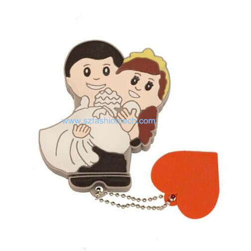 real capacity valentine 39 s day wedding gift usb flash pen drive bride and groom usb flash drive. Black Bedroom Furniture Sets. Home Design Ideas