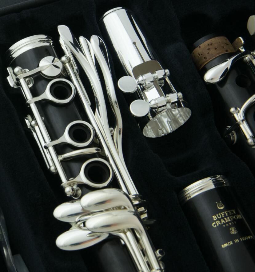 Buffet clarinette Crampon R13 Bb matériau ABS 17 clés B clé Nickel plate clarinette plaquée argent - 3