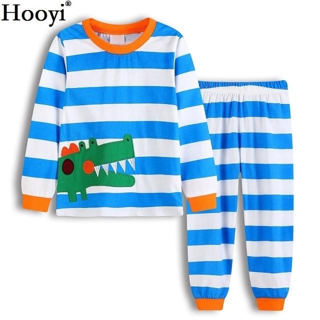 39ef61b32 Crocodile Blue Stripe Baby Boys Clothes Suits 2 3 4 5 6 7 Years ...