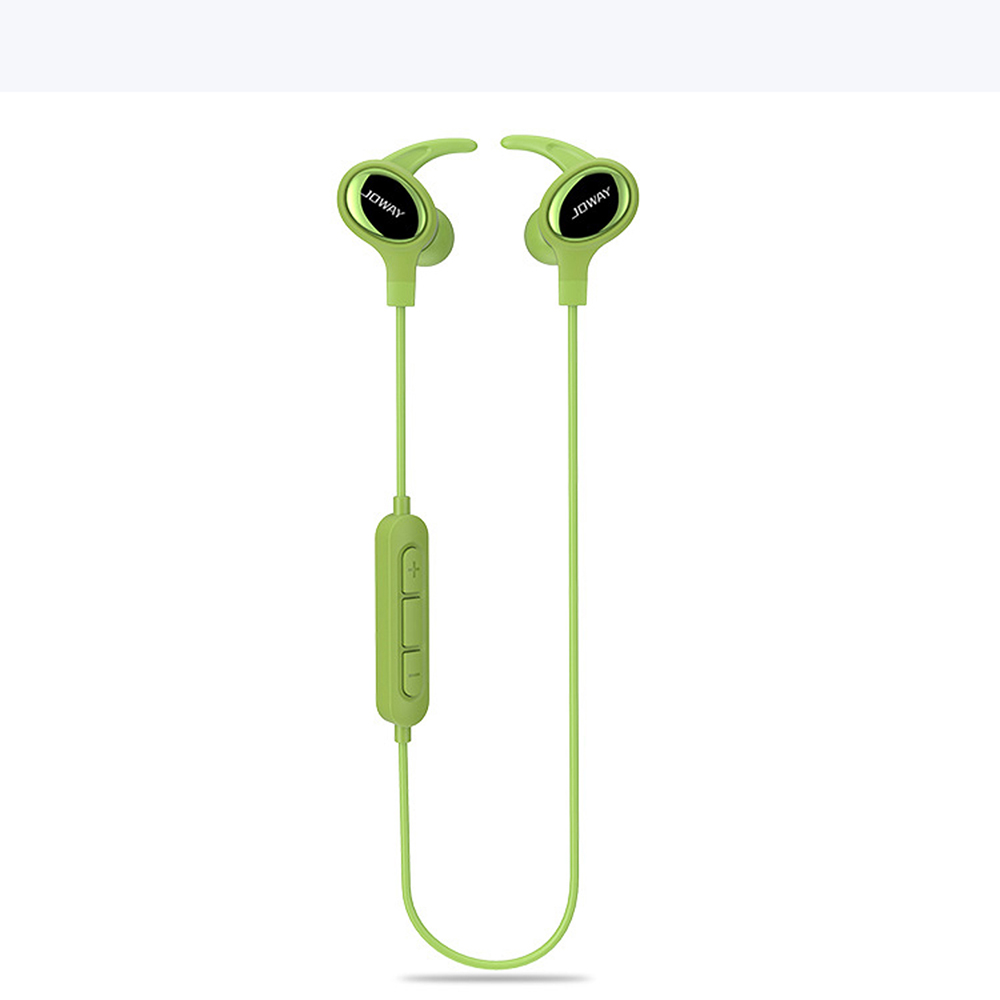 JOWAY H18 High Quality Stereo Bluetooth 4.1 Headset Hands Free Music Wireless Earphone Bass Sport Headphone Earbuds with Mic