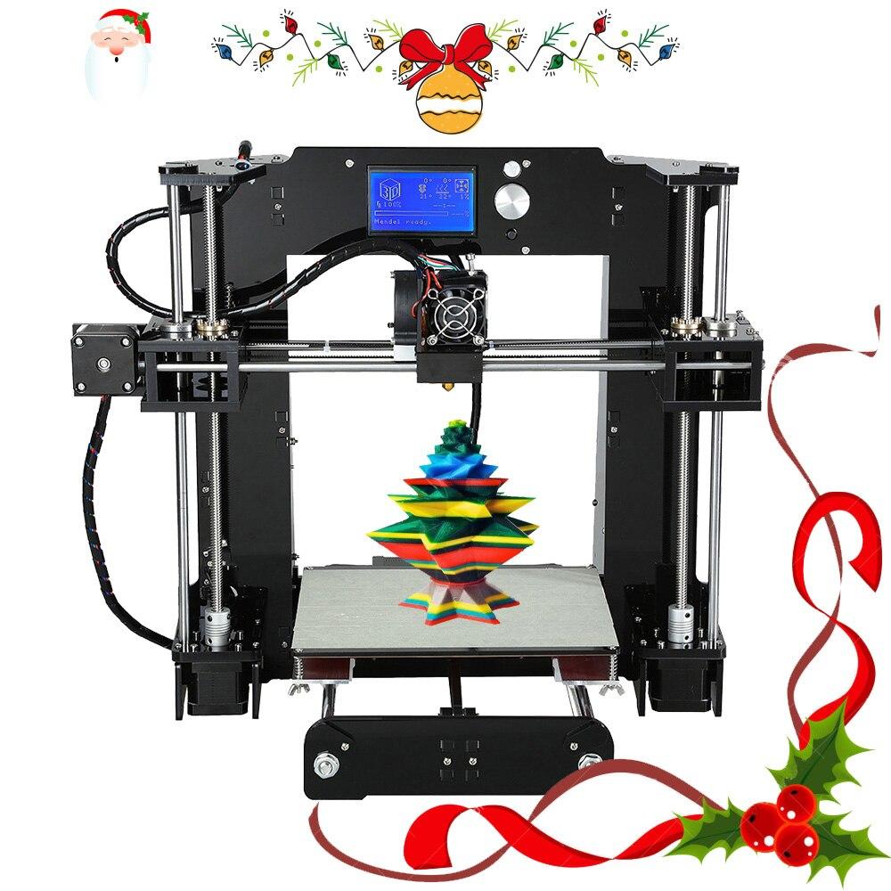 Pas cher Anet E10 A6 Impresora 3d imprimante Haute précision Reprap Prusa i3 3D Imprimante DIY Kit Hors-ligne D'impression avec PLA Filament - 5