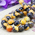 Accessories Agate Beads Carnelian Natural Stone Faceted Round DIY Jasper Jade Loose 6mm 8mm 10mm 12mm Women Girls Gifts Jewelry