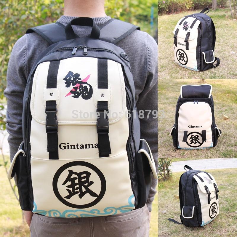 Free shipping Hot anime Gintama computer Backpacks big school bags Daily travel backpack GINTAMA FANS backpacks ab62 цены онлайн
