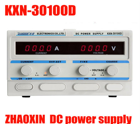high quality KXN-30100D High-Power Switch Big Power Switch DC Adjustable Power Suppl LED Display Computer Repair Power Supply switch power kps3010d adjustable high precision double led display switch dc power supply protection function 30v10a 110v 230v