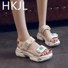 HKJL Fashion Summer sandals women 2019 new muffin bottom thick casual fashion womens breathable A509