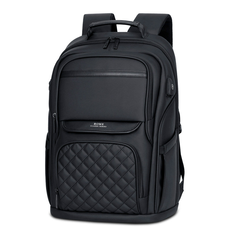 New Fashion Korean Canvas Shoulder Laptop Backpack Unisex School Bag High capacity Business Casual Computer Backpack Travel Bag in Backpacks from Luggage Bags