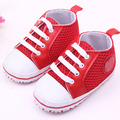 Newborn Kids Infant Toddler Baby Boy Girl Soft Sole Mesh Crib Shoes Sneaker LL9